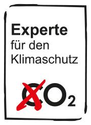 Experte für den Klimaschutz, Siegel, Bild